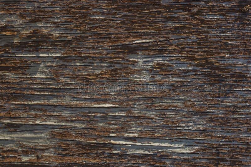 Drewno powierzchnia z krakingową farbą 1 obraz stock