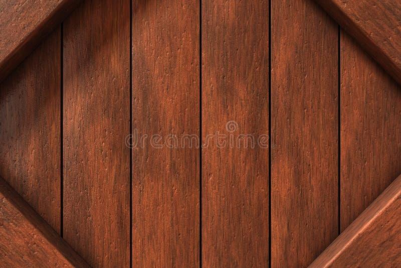 Drewno rama zdjęcia stock