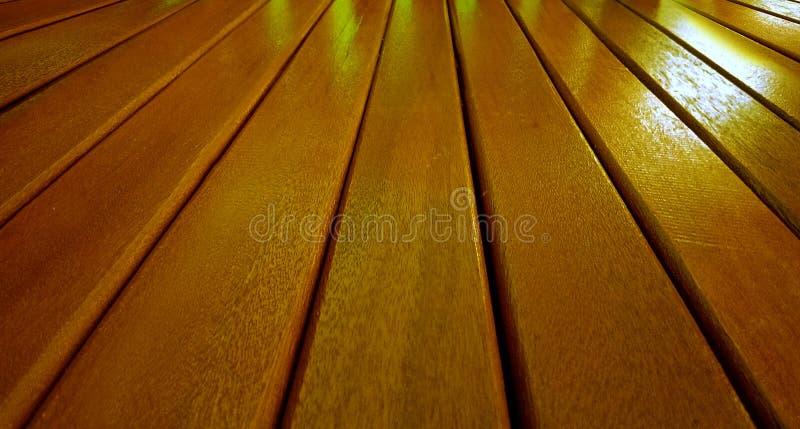 Drewno stół obrazy stock