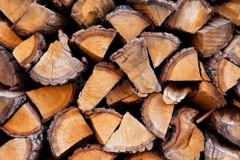 Drewno stos zdjęcie royalty free