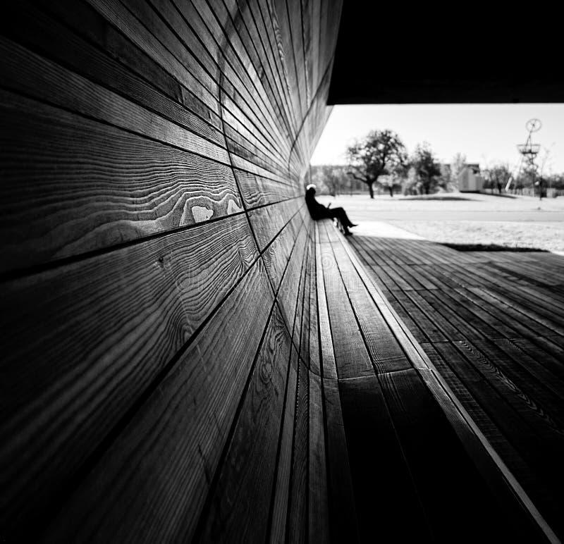 drewno struktura czarny white obraz stock