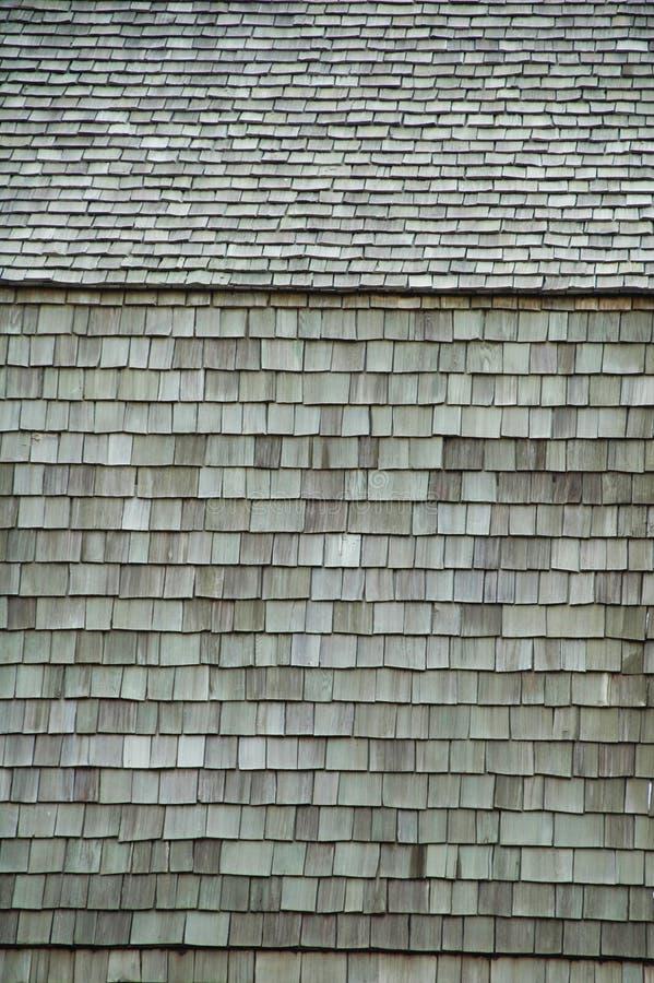 Drewno sufity i ściany. zdjęcie stock