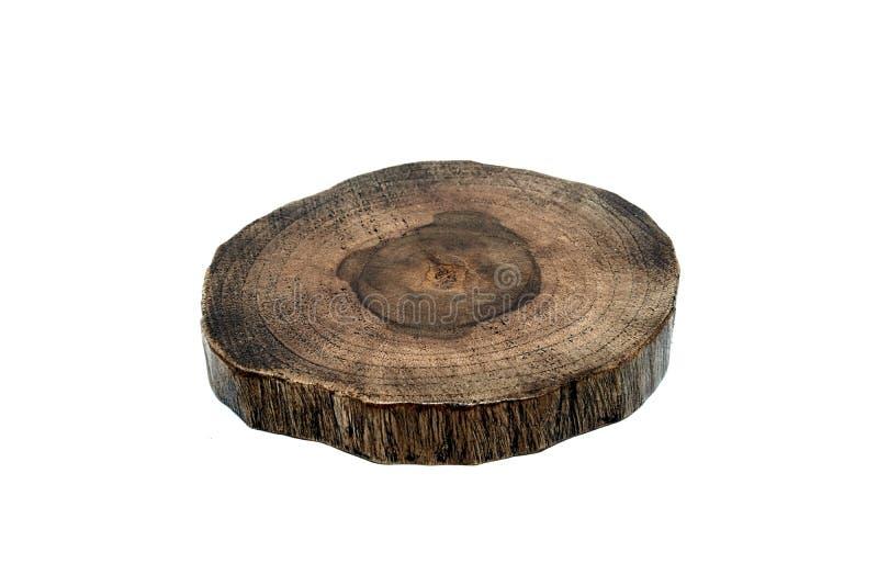 Drewno talerz obrazy royalty free