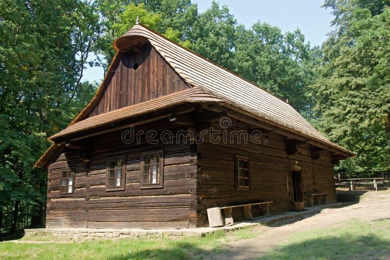 drewno w domu obraz royalty free