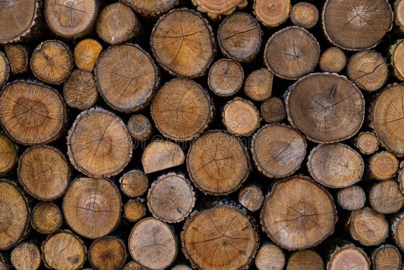 Drewno zaszaluje końcówkę obraz royalty free
