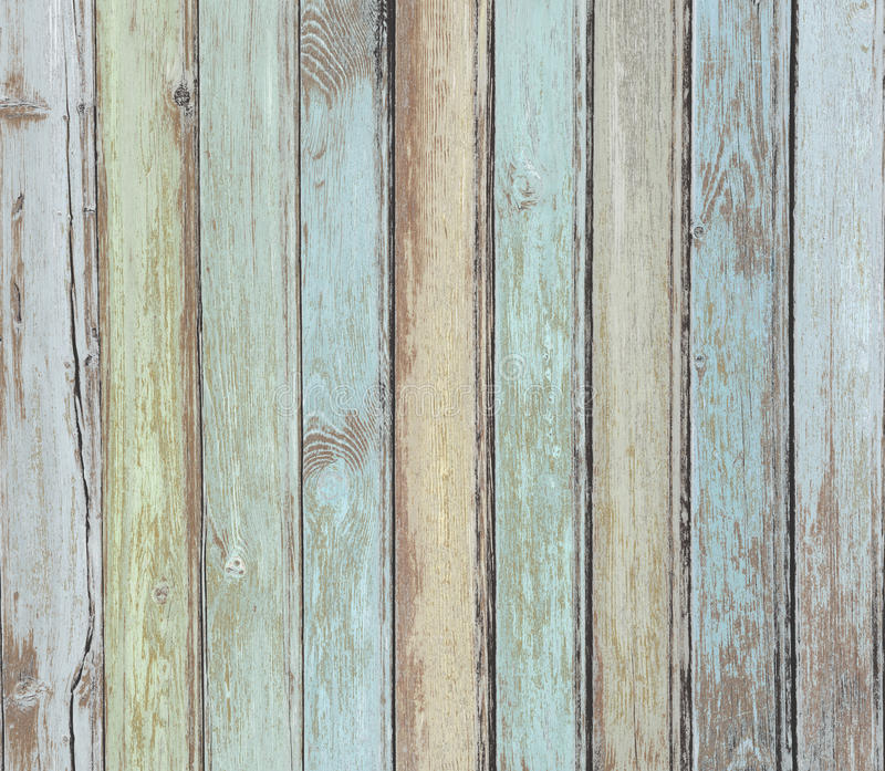 Drewno zaszaluje tło pastel barwiącego zdjęcia royalty free