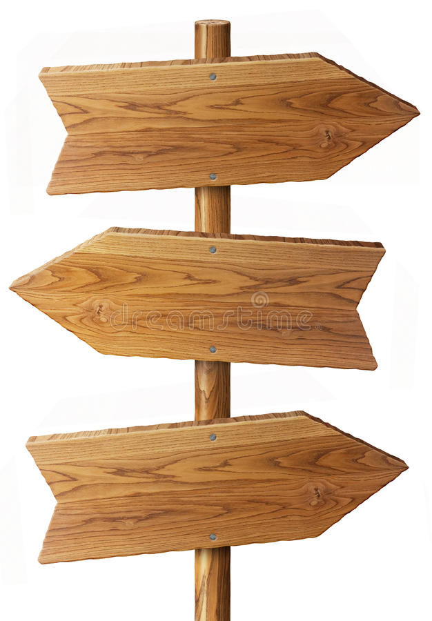 Drewno znak royalty ilustracja
