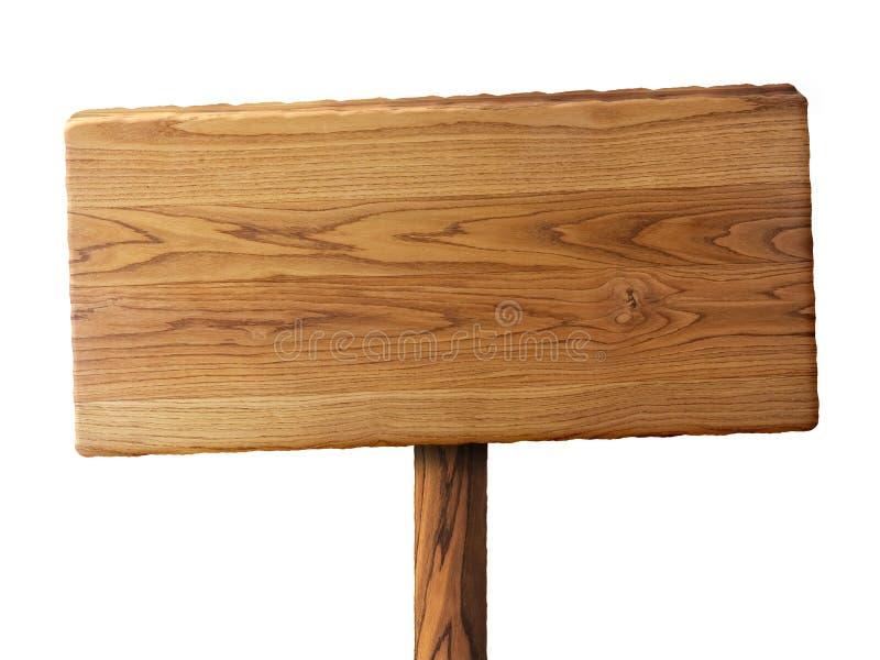 Drewno znak ilustracji