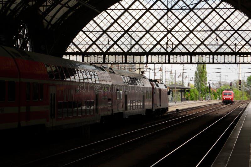 Drezdeńska Główna stacja zdjęcie stock
