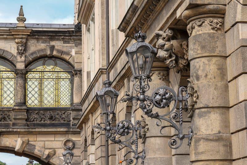 Drezdeński pałac, Niemcy zdjęcia royalty free