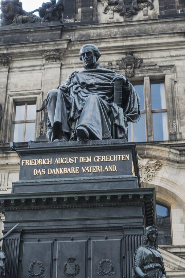Drezden, Niemcy obraz royalty free