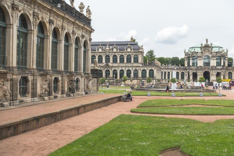 Drezden pałac obrazy stock