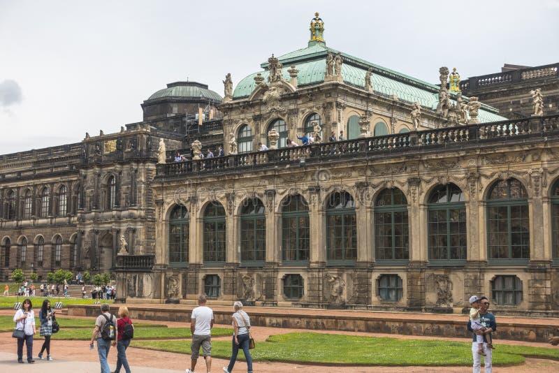Drezden pałac fotografia stock
