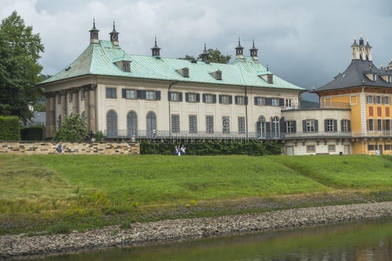 Drezden, stary budynek zdjęcie royalty free