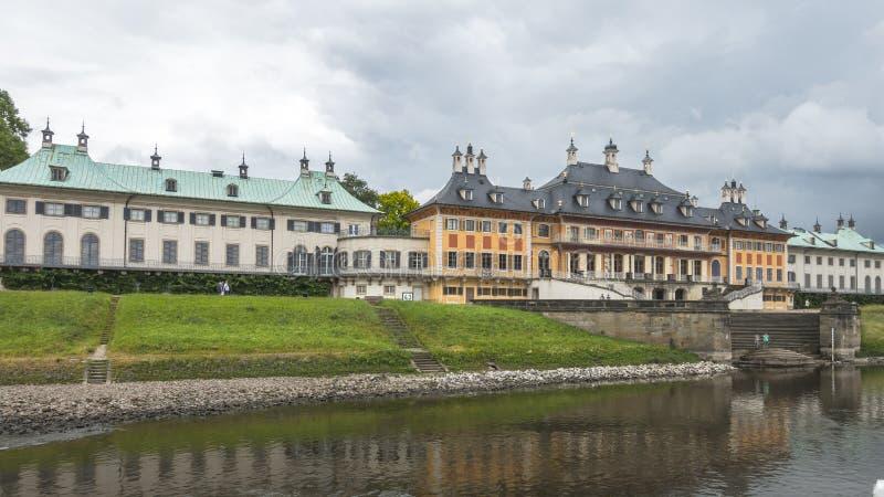 Drezden, stary budynek fotografia royalty free