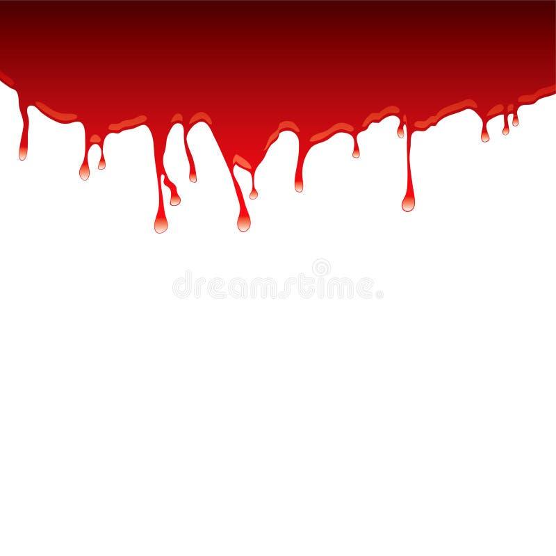 dribble αίματος κορυφή απεικόνιση αποθεμάτων
