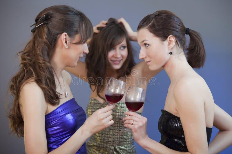 dricka för dansdisko royaltyfria foton