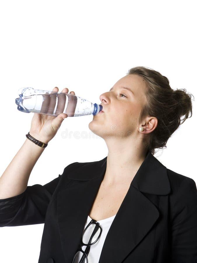 dricka flickavatten arkivfoton