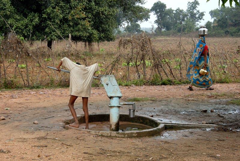 dricka indiskt vatten royaltyfria foton