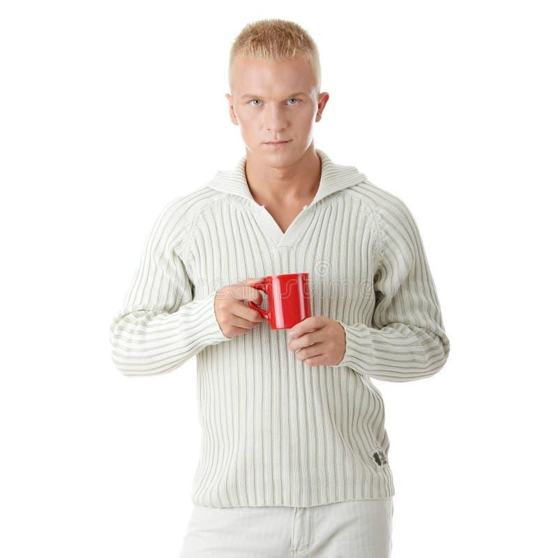 dricka mantea för kaffe royaltyfri fotografi
