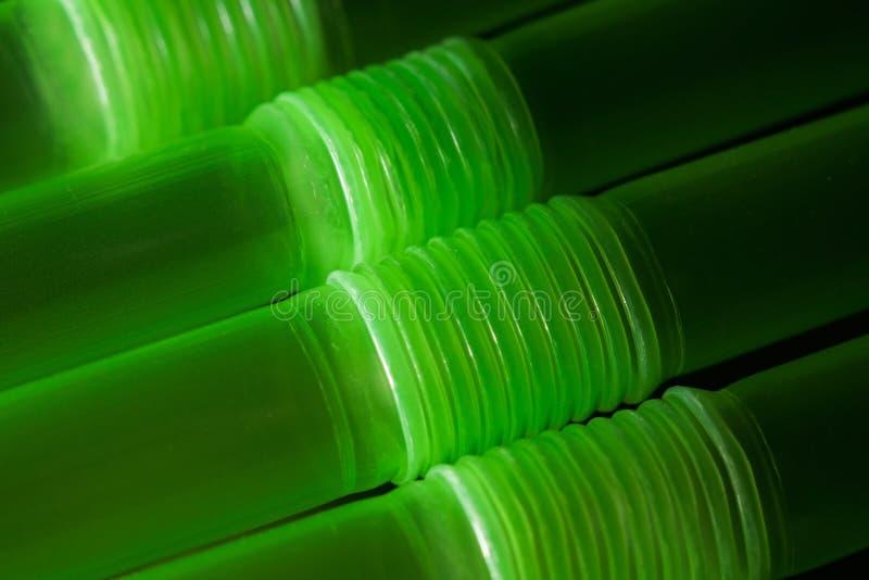 Dricka sugrör med vinkel-justerbar brölsegmentmakro fotografering för bildbyråer