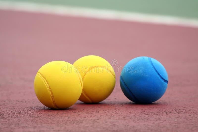 Drie ballen stock fotografie