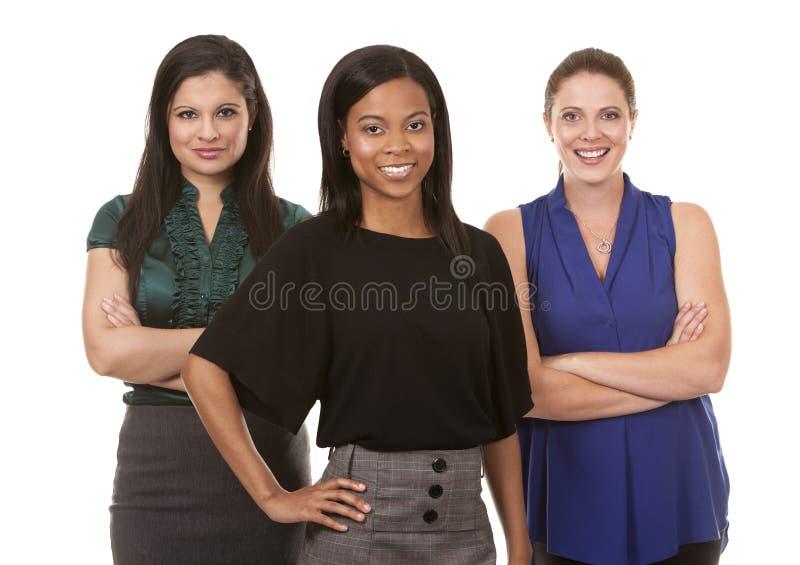 Drie bedrijfsvrouwen royalty-vrije stock fotografie
