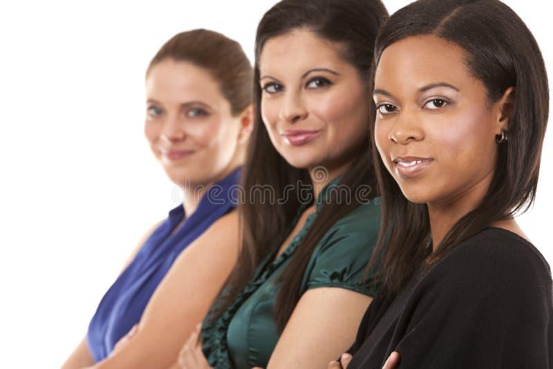 Drie bedrijfsvrouwen royalty-vrije stock afbeeldingen