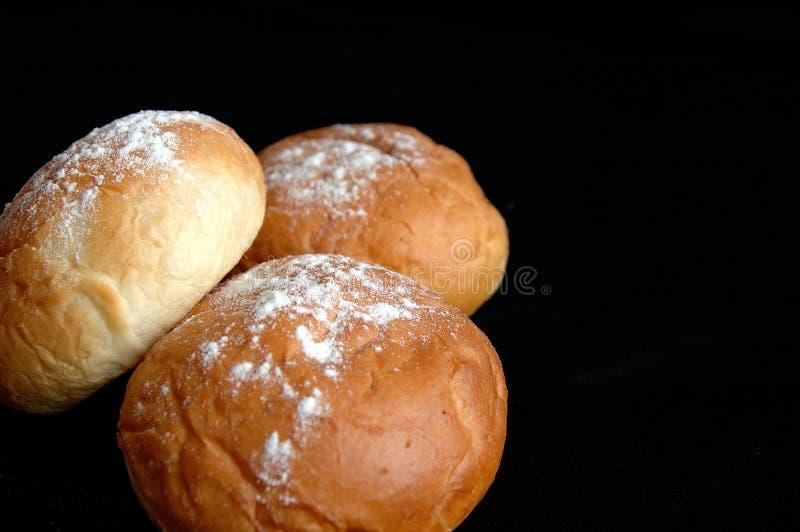 Drie Broodjes Royalty-vrije Stock Afbeelding