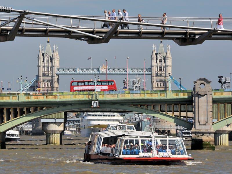Drie Bruggen van Londen royalty-vrije stock foto's