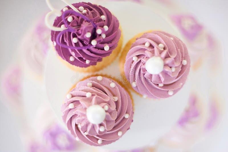 Drie Cakeofferte royalty-vrije stock foto's
