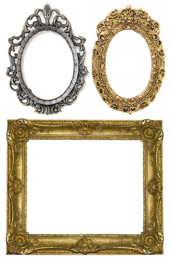 Drie frames royalty-vrije stock fotografie