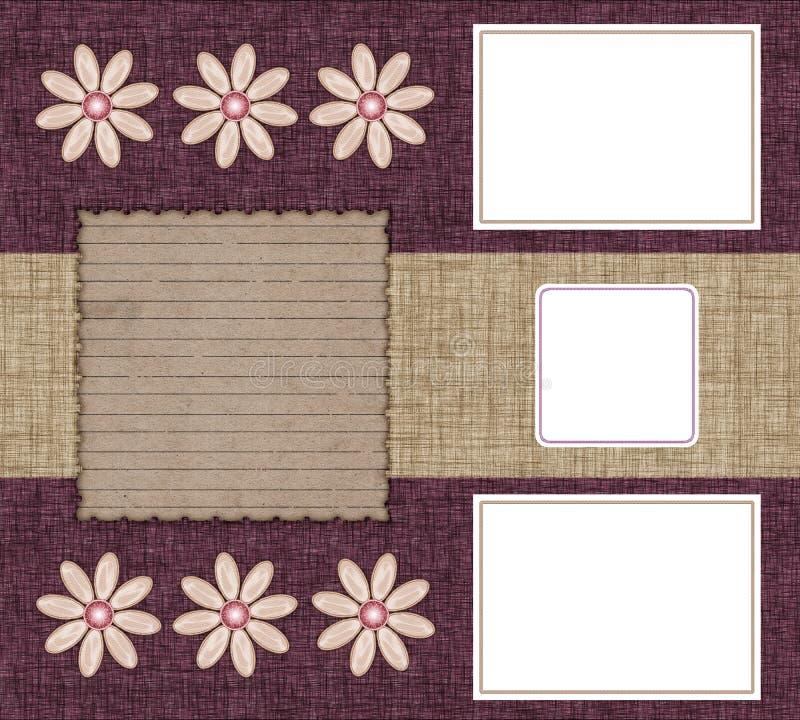 Drie frames voor foto's vector illustratie
