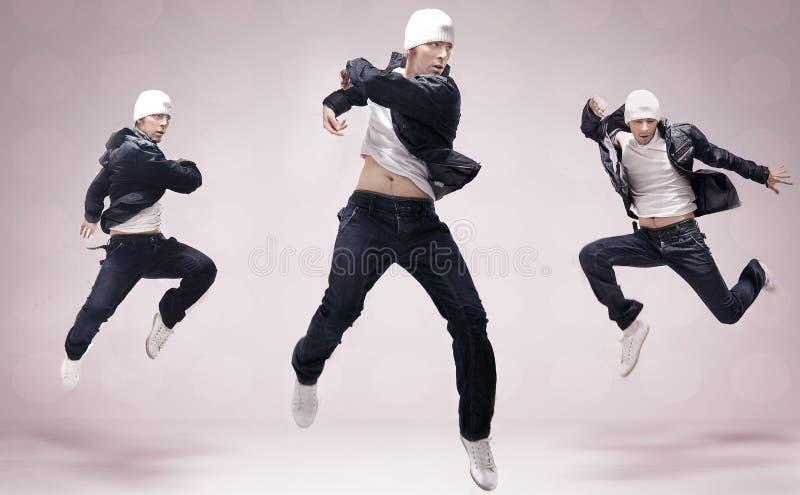 Drie heup-hop dansers