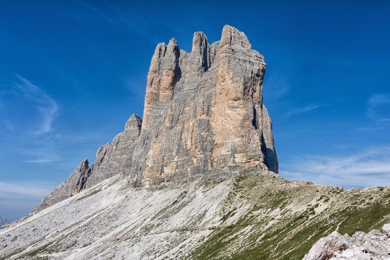 Drie hoogten van Lavaredo royalty-vrije stock foto's