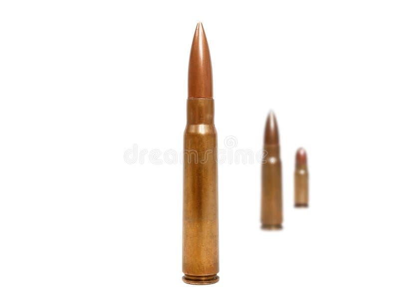 Drie kogels stock fotografie