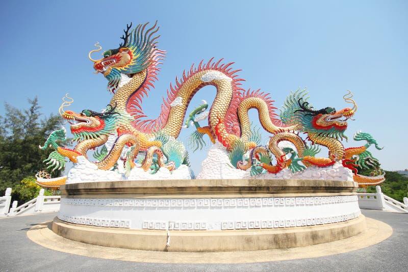 Drie Koninkrijkenpark, Pattaya Thailand royalty-vrije stock foto