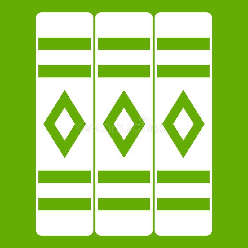 Download Drie Literair Groen Boekenpictogram Vector Illustratie - Illustratie bestaande uit encyclopedie, geïsoleerd: 107707580
