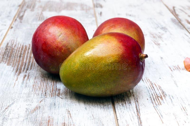 Drie mango's stock fotografie