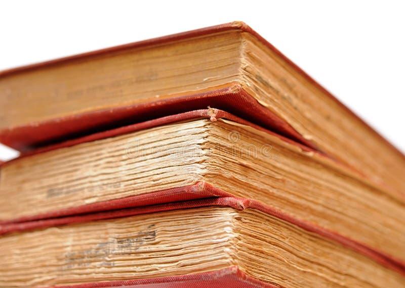 Download Drie oude boeken stock afbeelding. Afbeelding bestaande uit bevlekt - 29511581