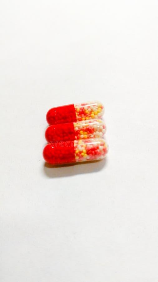 Drie tabletten stock fotografie