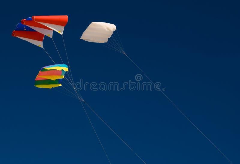 Drie Vliegers Royalty-vrije Stock Afbeelding