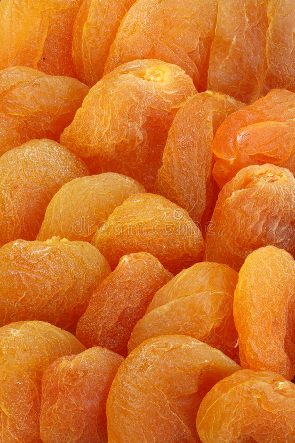 Download Dried apricots close up stock photo. Image of eating, fruits - 7438780
