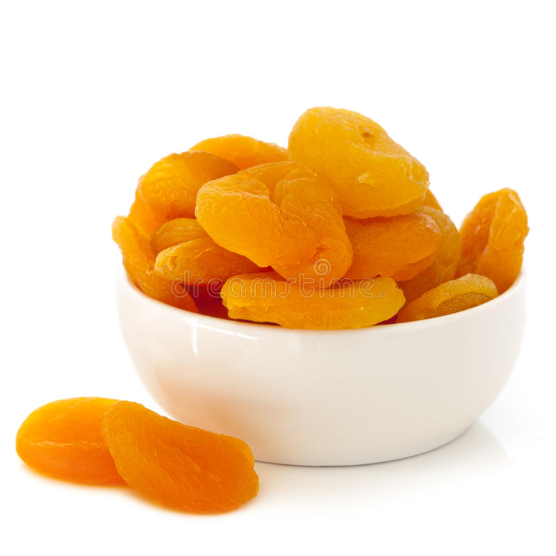 Download Dried Apricots Isolated stock photo. Image of background - 26214986