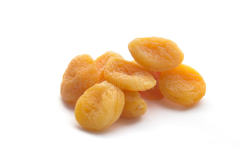 Download Dried Apricots Isolated On White Stock Image - Image: 16105493