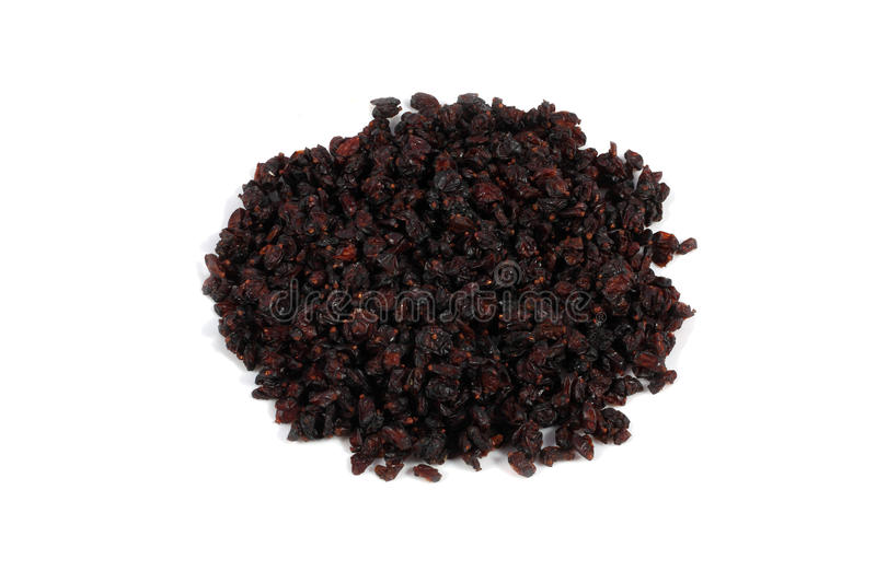 Dried barberry royalty free stock photography