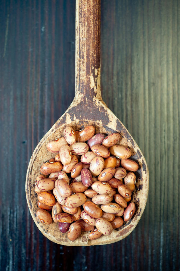 Dried beans stock photography