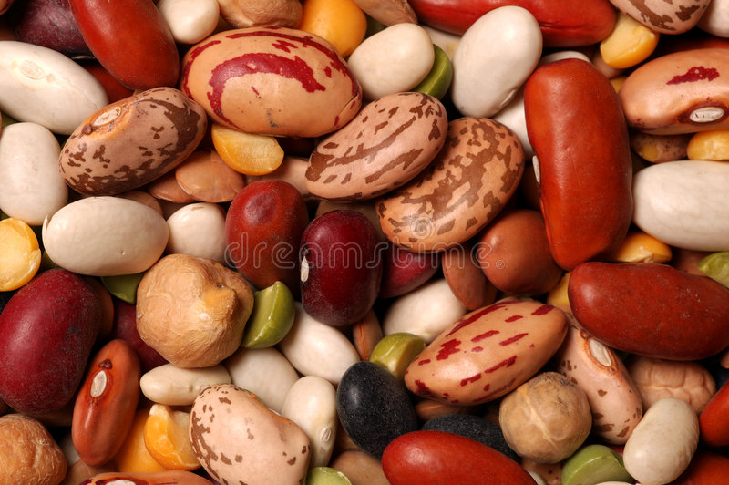 Dried Beans Royalty Free Stock Photo