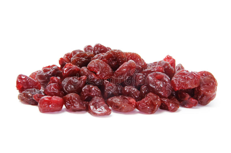 Dried cherries stock images