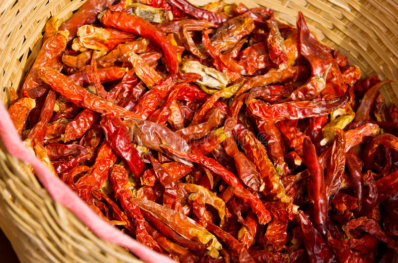 Download Dried chili stock image. Image of spicy, organic, nature - 26586767
